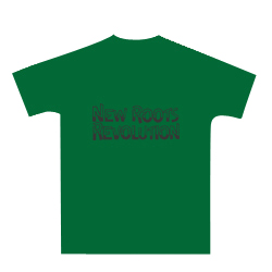 NEW ROOTS REVOLUTION T 'green'