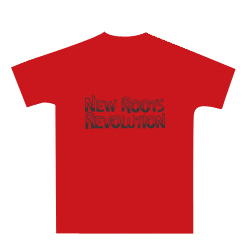 NEW ROOTS REVOLUTION T 'red'