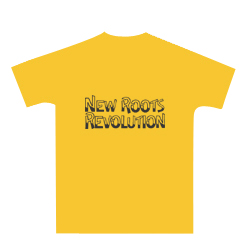 NEW ROOTS REVOLUTION T 'yellow'